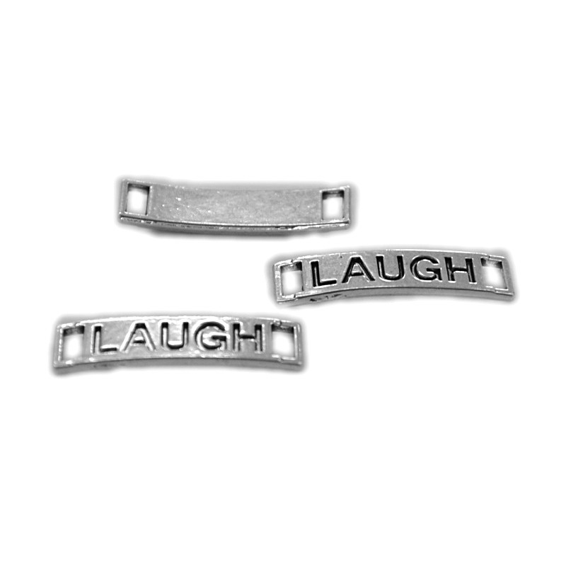 Link inscriptionat LAUGH 27x6mm