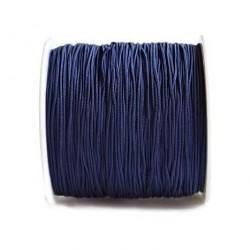 Snur nylon albastru inchis 0,8mm, pentru bratari (1metru)