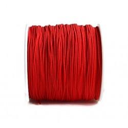 Snur nylon rosu 0,8mm, pentru bratari (5metri)