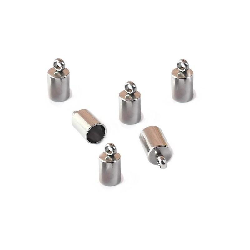 Capat snur inox 10x5mm (Ø 4mm)