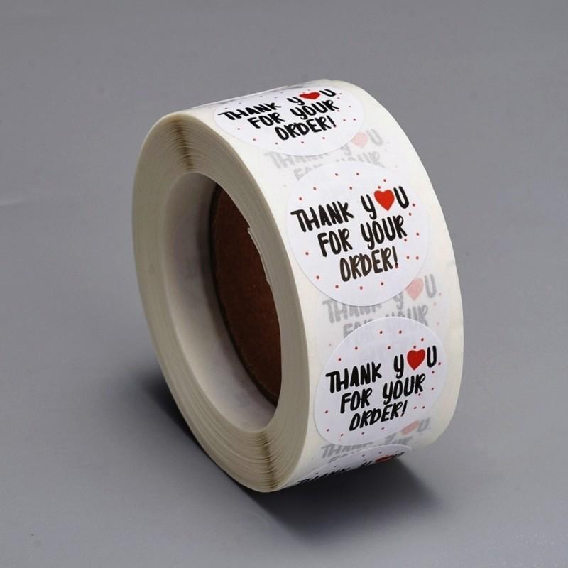 Etichete sticker, hartie autocolanta 25mm (10 buc.)