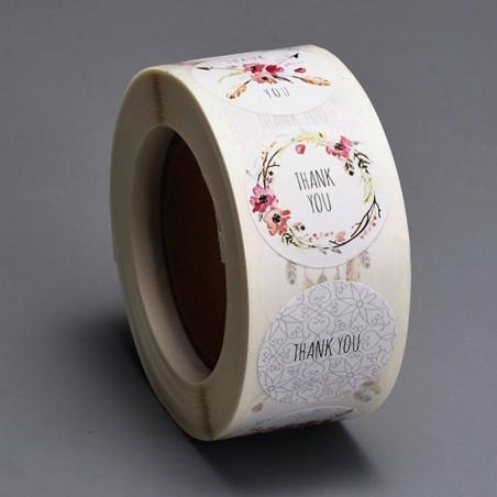 Etichete sticker, hartie autocolanta 25mm (6 buc.)