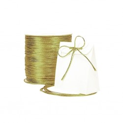 Snur elastic auriu 1mm lurex, rexor ( 1metru)
