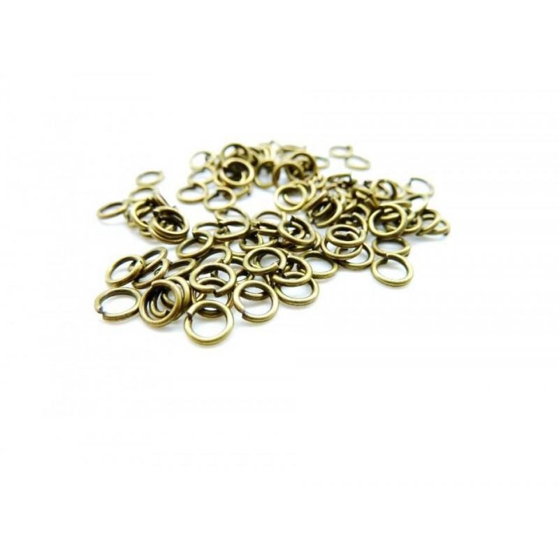Zale bronz  4x0,7mm (10 buc)